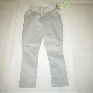 Persnickety gray balloon cords pants 4T
